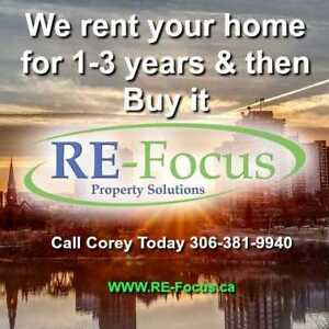 We want to rent your house for 3 years and then buy it