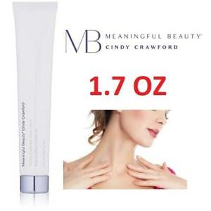 NEW CHEST AND NECK TREATMENT CREAM 240046648 MEANINGFUL BEAUTY CINDY CRAWFORD FIRMING CHEST NECK WITH VITAMIN C 1.7 OZ