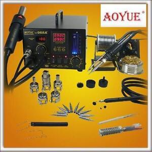 USED* AOYUE HOT AIR REWORK STATION - 114654760 - PLUS SMD DIGITAL
