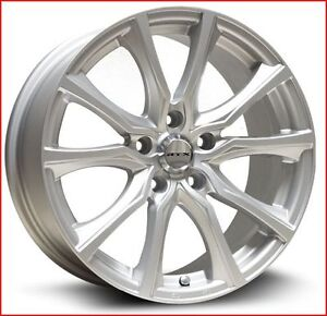 Roues (Mags) Contour Argent 17''  5-110  Jeep Renegade