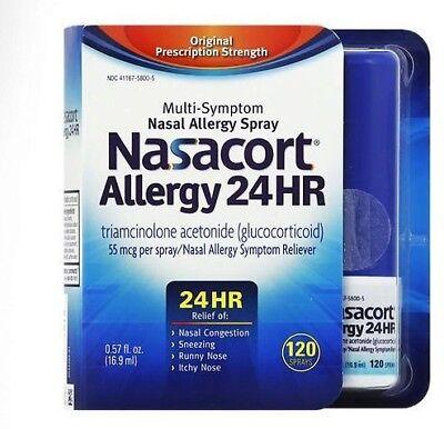 Nasacort Multi-symptom Nasal Allergy Spray , 120 Sprays 0...
