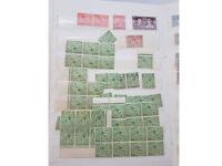 Stamps! GB - Elizabeth II, KGVI stock album