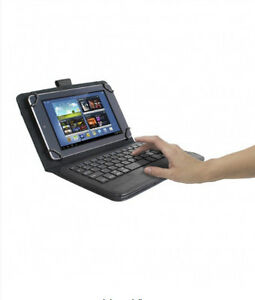 "Universal Bluetooth Keyboard Case for 7 & 8"" Tablets"
