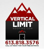 Vertical Limit Roofing! Call Us Now For Your No Obligation Quote