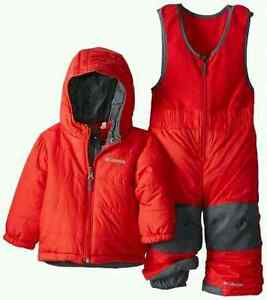 Used Columbia Double Flake Reversible Winter Set Kitchener / Waterloo Kitchener Area image 4