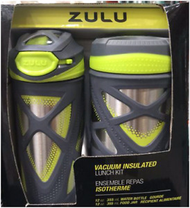 Zulu kids water bottle and canister set