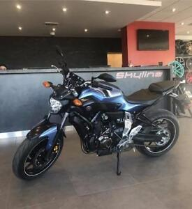 2017 YAMAHA FZ-07 ABS!!$55.95 BI-WEEKLY WITH $0 DOWN!! LOW KMS!!
