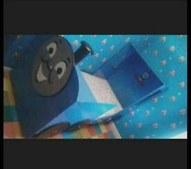 Thomas the tank engine bed , and full bedroom set up