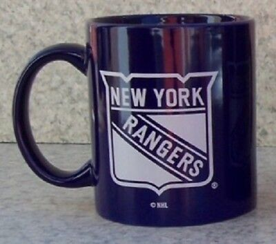 (Coffee Mug Sports NHL New York Rangers NEW 14 ounce cup with gift box)