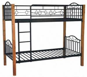 new bunk beds brand new wood and metal single size bunks Old Guildford Fairfield Area Preview