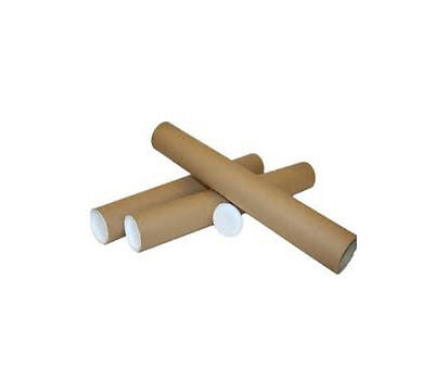 500 Postal / Mailing Tubes - SIZE A/2 45 x 460mm / 1.75x18