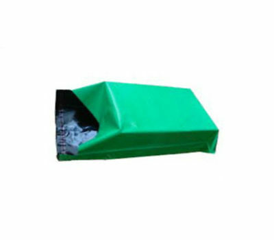 1000 GREEN Polythene Mailing Bags - SIZE 14x20