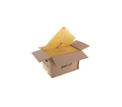 1000 JIFFY Envelopes / Mailers - CD SIZE J/0 14 x 19.5cm GOLD