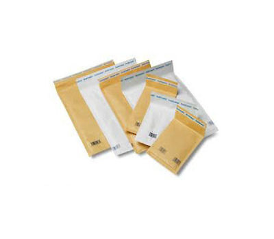 200 BUBBLE LINED Mailing Bags / Envelopes - SIZE 14 x 19.5cm GOLD