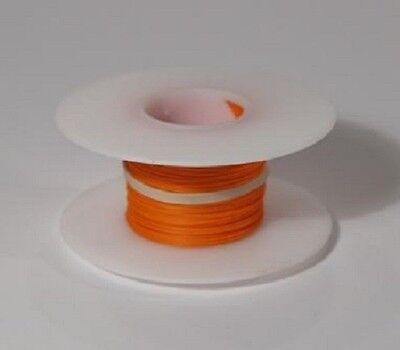 30 Awg Kynar Wire Wrap Ul1423 Solid Wiremod Type 100 Foot Spools Orange New