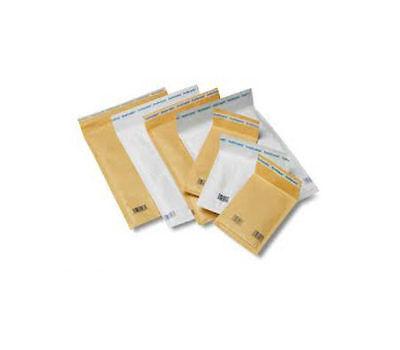 "10 PADDED / BUBBLE Envelopes - SIZE 115x195mm 4.5x7.5"" GOLD"