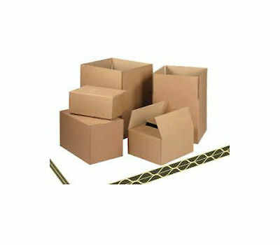 10 STRONG THICK DOUBLE WALL CARDBOARD BOXES 18x12x12
