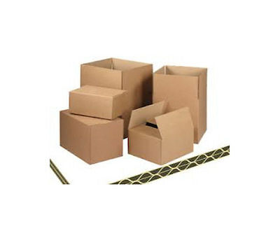 10 Large Packing DOUBLE WALL Cardboard Boxes 12x12x12