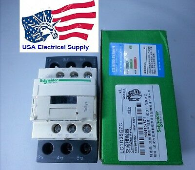 Lc1d25g7c Schneider Contactor Coil 120vac 5060hz