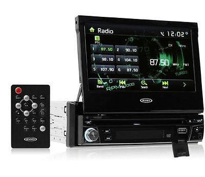 """Jensen VX3012 Single DIN Bluetooth DVD/Multimedia Car Stereo /7"""" Touchscreen"""