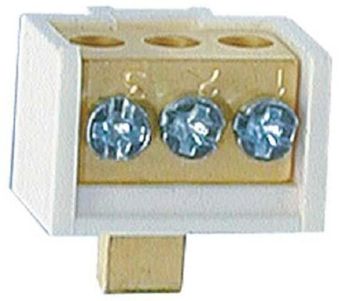 Hager FUSE CARRIER NEUTRAL LINK 100A 4-Terminal, Screw Mounting, Copper