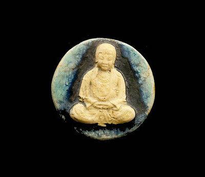Pendant of Buddha Position Lotus Ceramic Buddha Creation Craft 8807