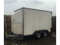 Tow A Van Box Trailer Twin Axle