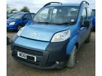 2011 CITROEN NEMO 1.3D ***BREAKING PARTS AVAILABLE ONLY (VAN) BIPPER