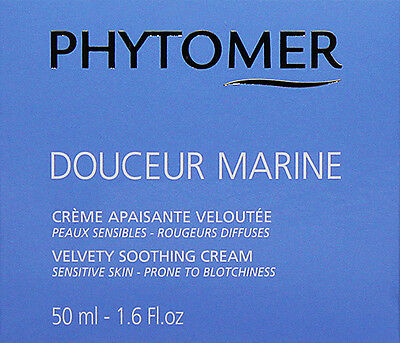 Phytomer Douceur Marine Velvety Soothing Cream 50ml Sensitive Skin Fresh (Velvety Soothing Skin Cream)