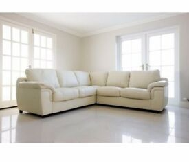 GET YOURS BEFORE XMAS***AMY SOFA COLLECTION***AVAILABLE IN CORD OR LEATHER IN VARIOUS COLOURS