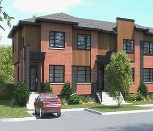 **Brand New Townhouse Construction in Vaudreuil**