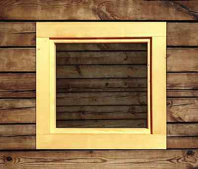 Fenster Holzfenster Gartenhaus Gartenhausfenster Carport Garagenfenster NEU