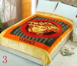 Brand New VERSACE Blanket 200cm x 150cm Greenwith Tea Tree Gully Area Preview