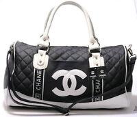 Sac de Voyage / Sport Chanel Louis Vuitton en vrai cuir