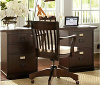 Pottery Barn Bedford wood desk