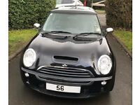Mini Cooper S 1.6 Supercharged 3dr Black R53 2006/56 plate