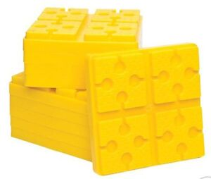 Blocks and chocks for leveling