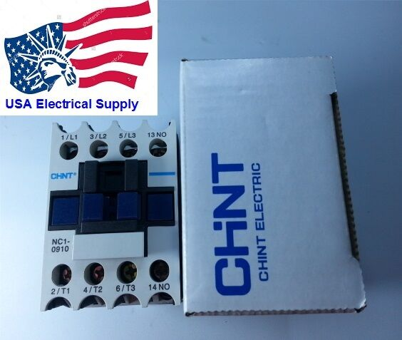 LC1D09F Replacemen for Chint Contactor NC1-0910 Coil 110VAC