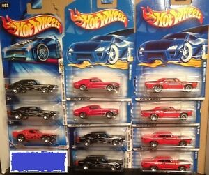Hot Wheels, Muscle Cars die-cast 1:64 see all photos
