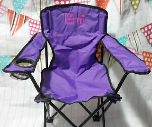 $45 - 2 Luxury Folding Junior Arm Chairs set. Great deal