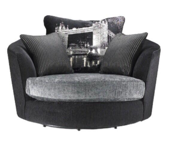 Sofology Napier Cuddler Swivel Chair