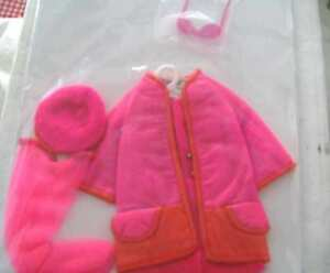 1231 1969 FRANCIE DOLL PINK LIGHTNING MOD OUTFIT COMPLETE