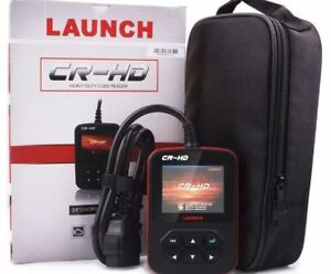 HEAVY TRUCK DIAGNOSTIC SCANNER BY LAUNCH. NEW! SAVE MONEY/TIME!