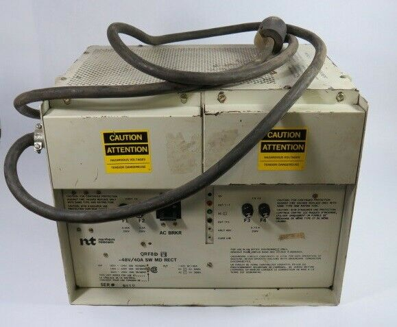 Northern Telecom QRF8D Power Supply  USED