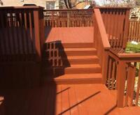 EXTERIOR PAINTING--DECK & FENCE SPECIALIST—20 % OFF  special