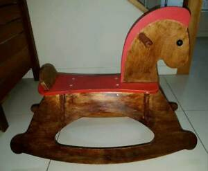 HAPE Wooden Rock and Ride Rocking Horse - RRP$100 Kangaroo Point Brisbane South East Preview
