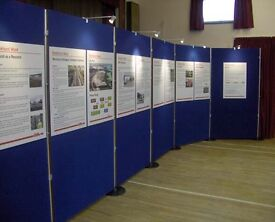Display and exhibition boards