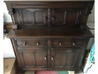Early Ercol Court Cupboard