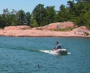 ROLL UP DINGHY WITH 2 HP MOTOR
