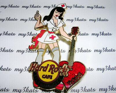 Hard Rock Cafe ATLANTIC CITY NURSE PIN 2006 - $19.99